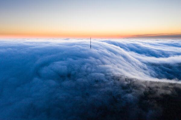 Hörselberg bei Nebel