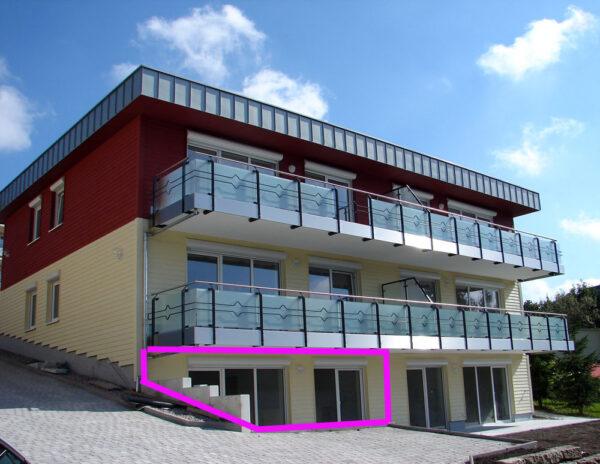 Wohnung Nr. 5 mit großer Terrasse, Haus Ohragrund